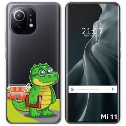 Funda Gel Transparente para Xiaomi Mi 11 / Mi 11 Pro diseño Coco Dibujos