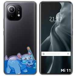 Funda Gel Transparente para Xiaomi Mi 11 / Mi 11 Pro diseño Hipo Dibujos