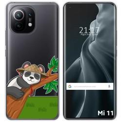 Funda Gel Transparente para Xiaomi Mi 11 / Mi 11 Pro diseño Panda Dibujos