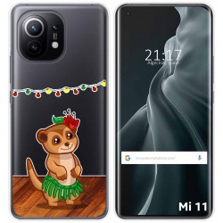 Funda Gel Transparente para Xiaomi Mi 11 / Mi 11 Pro diseño Suricata Dibujos