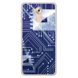 Funda Gel Tpu para Huawei Honor 6C / Nova Smart Diseño Circuito Dibujos