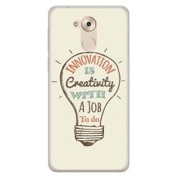 Funda Gel Tpu para Huawei Honor 6C / Nova Smart Diseño Creativity Dibujos