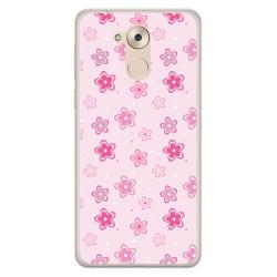 Funda Gel Tpu para Huawei Honor 6C / Nova Smart Diseño Flores Dibujos