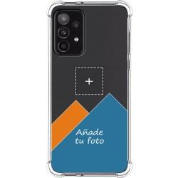 Personaliza tu Funda Silicona Anti-Golpes Transparente con tu Fotografía para Samsung Galaxy A52 / A52 5G personalizada