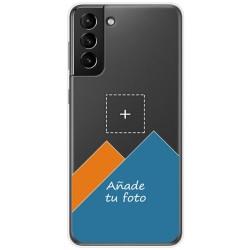 Personaliza tu Funda Doble Pc + Tpu 360 con tu Fotografia para Samsung Galaxy S21+ Plus 5G dibujo personalizada