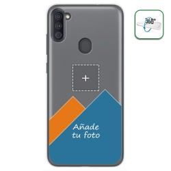 Personaliza tu Funda Doble Pc + Tpu 360 con tu Fotografia para Samsung Galaxy A11 / M11 dibujo personalizada