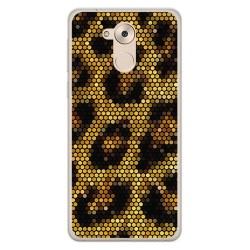 Funda Gel Tpu para Huawei Honor 6C / Nova Smart Diseño Leopardo Dibujos