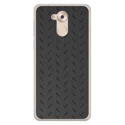 Funda Gel Tpu para Huawei Honor 6C / Nova Smart Diseño Metal Dibujos