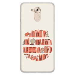 Funda Gel Tpu para Huawei Honor 6C / Nova Smart Diseño Mundo Libro Dibujos