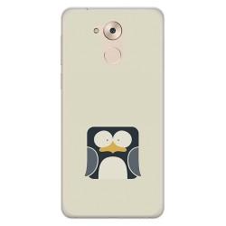 Funda Gel Tpu para Huawei Honor 6C / Nova Smart Diseño Pingüino Dibujos