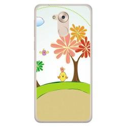 Funda Gel Tpu para Huawei Honor 6C / Nova Smart Diseño Primavera Dibujos
