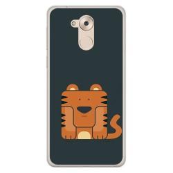 Funda Gel Tpu para Huawei Honor 6C / Nova Smart Diseño Tigre Dibujos