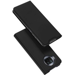 Funda Piel Soporte Magnética Dux Ducis para Xiaomi Mi 10T Lite color Negra