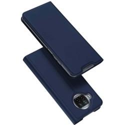 Funda Piel Soporte Magnética Dux Ducis para Xiaomi Mi 10T Lite color Azul