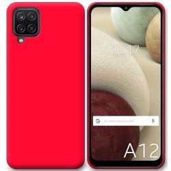 Funda Silicona Gel TPU Rosa para Samsung Galaxy A12