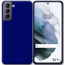 Funda Silicona Gel TPU Azul para Samsung Galaxy S21 5G