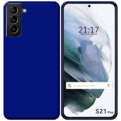 Funda Silicona Gel TPU Azul para Samsung Galaxy S21+ Plus 5G