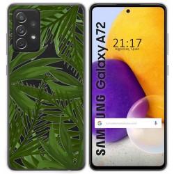 Funda Gel Transparente para Samsung Galaxy A72 diseño Jungla Dibujos