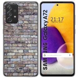 Funda Gel Tpu para Samsung Galaxy A72 diseño Ladrillo 02 Dibujos
