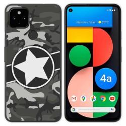 Funda Gel Tpu para Google Pixel 4a diseño Camuflaje 02 Dibujos