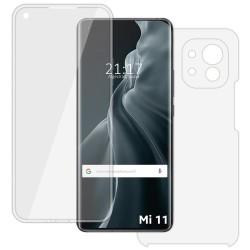 Funda Completa Transparente Pc + Tpu Full Body 360 para Xiaomi Mi 11 / Mi 11 Pro