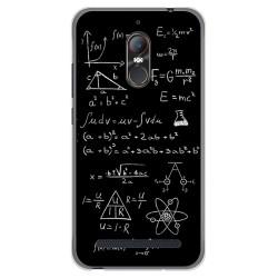 Funda Gel Tpu para Zte Nubia N1 Lite Diseño Formulas Dibujos