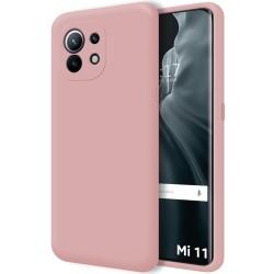 Funda Silicona Líquida Ultra Suave para Xiaomi Mi 11 / Mi 11 Pro color Rosa