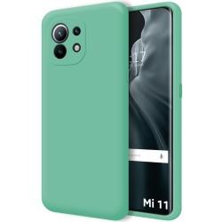 Funda Silicona Líquida Ultra Suave para Xiaomi Mi 11 / Mi 11 Pro color Verde