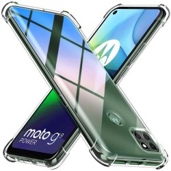 Funda Gel Tpu Anti-Shock Transparente para Motorola Moto G9 Power
