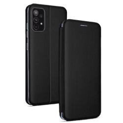 Funda Libro Soporte Magnética Elegance Negra para Samsung Galaxy A52 / A52 5G
