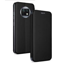 Funda Libro Soporte Magnética Elegance Negra para Xiaomi Redmi Note 9T 5G