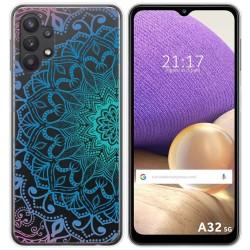 Funda Gel Transparente para Samsung Galaxy A32 5G diseño Mandala Dibujos