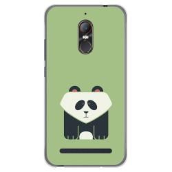 Funda Gel Tpu para Zte Nubia N1 Lite Diseño Panda Dibujos