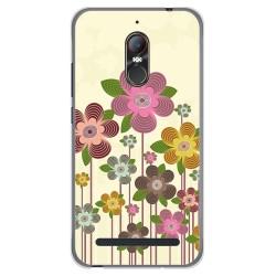 Funda Gel Tpu para Zte Nubia N1 Lite Diseño Primavera En Flor  Dibujos