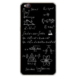 Funda Gel Tpu para Zte Nubia M2 Lite Diseño Formulas Dibujos