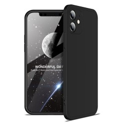 Funda Carcasa GKK 360 para Iphone 12 (6.1) color Negra