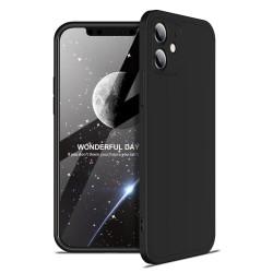 Funda Carcasa GKK 360 para Iphone 12 Mini (5.4) color Negra