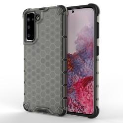 Funda Tipo Honeycomb Armor (Pc+Tpu) Negra para Samsung Galaxy S21 5G