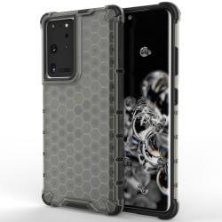 Funda Tipo Honeycomb Armor (Pc+Tpu) Negra para Samsung Galaxy S21 Ultra 5G