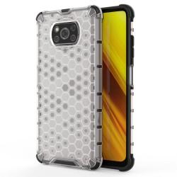 Funda Tipo Honeycomb Armor (Pc+Tpu) Transparente para Xiaomi POCO X3 NFC / X3 PRO
