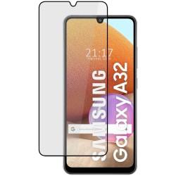 Protector Cristal Templado Completo 5D Full Glue Negro para Samsung Galaxy A32 4G Vidrio