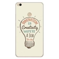 Funda Gel Tpu para Xiaomi Mi Max 2 Diseño Creativity Dibujos