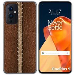 Funda Gel Tpu para OnePlus 9 5G diseño Cuero 01 Dibujos