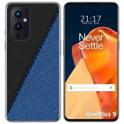 Funda Gel Tpu para OnePlus 9 5G diseño Cuero 02 Dibujos