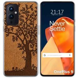 Funda Gel Tpu para OnePlus 9 5G diseño Cuero 03 Dibujos