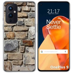 Funda Gel Tpu para OnePlus 9 5G diseño Ladrillo 03 Dibujos