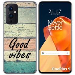 Funda Gel Tpu para OnePlus 9 5G diseño Madera 01 Dibujos