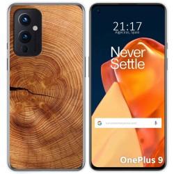 Funda Gel Tpu para OnePlus 9 5G diseño Madera 04 Dibujos