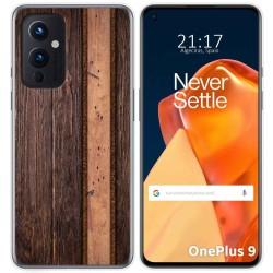 Funda Gel Tpu para OnePlus 9 5G diseño Madera 05 Dibujos
