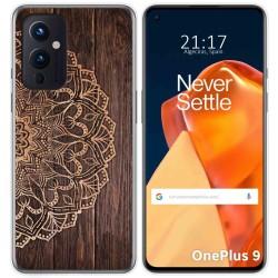 Funda Gel Tpu para OnePlus 9 5G diseño Madera 06 Dibujos